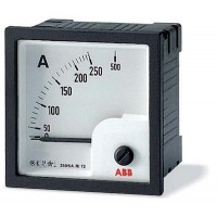 Амперметр пост.тока без шкалы AMT2-A2/72,вкл. через шунт 60 мВ