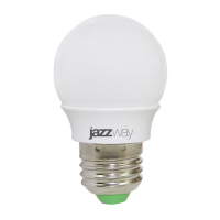 Лампа светодиодная 3 Вт 230В Е27 шарик, тёплый белый