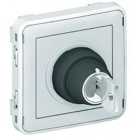 Выключатель с ключом 2 н.о.  3A  IP 55  Plexo