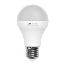 Лампа светодиодная 10 Вт 230В Е27 колба А60, пластик, тёплый белый