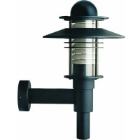 Светильник  настенный для КЛЛ 26 Вт G24d-3 IP55, черный 3003012610
