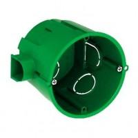 Коробка монтажная установочная 65х60 мм для сплошных стен, IP30