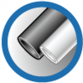 ТУТ 6/3 черная, трубка термоусаживаемая тонкостенная 6/3 мм до 1кВ (-55С+105С) черная