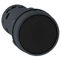 Кнопка черная 1НО с возвратом