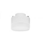 Лампа энергосберегающая 7 Вт GX40 2700К тёплый плоская белая