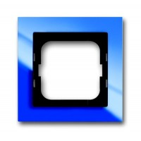 Рамка 1 пост цвет синий Axcent