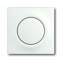 Клавиша для выключателя/переключателя 1 клавишного с подсветкой белый бархат Impuls