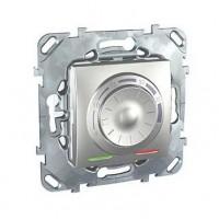 Термостат электронный 8А от+5 до +30 С алюминий Unica Top