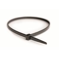Хомут кабельный полиамид 3,6x140 мм устойчивый к высоким температурам 6.6 (-40С+125C) черный (упак.100шт.)