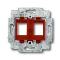 Суппорт для 2-х неэкранированных разъемов Modular jack кат. 5