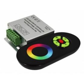 Контроллер LED для RGB DC 12/24V 144/216 Вт, с сенсорным пультом радиочастотный