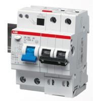 Автомат. выкл. дифф. тока 2-пол. 10А 30мА тип AC 6 кА хар-ка C серия DS200 АС С