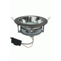 Светильник встраиваемый для КЛЛ 13Вт GX70, 65*171, без лампы