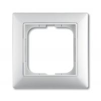 Рамка 1 пост альпийский белый Basic 55