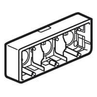 Коробка для накладного монтажа 6 мод. глубина 40 мм Mosaic