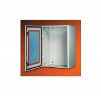 Корпус шкафа SR дверь со стеклом 600х400х200мм, IP65