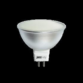 Лампа светодиодная 6 Вт 230В GU5.3 d=51mm, термопластик, тёплый белый