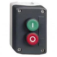 Двухкнопочный пост управления с кнопками зеленый/красной с маркировкой