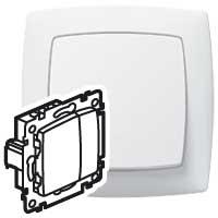 Светорегулятор нажимной 400 Вт белый  Suno