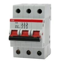 Выключатель нагрузки 3-пол. 80A красный рычаг тип Е200