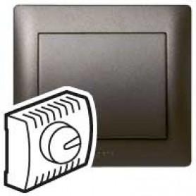 Накладка  для светорегулятора поворотного 1000Вт темная бронза Galea Life