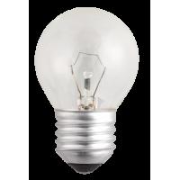 Лампа накал. шар 60 Вт E27 прозрачный