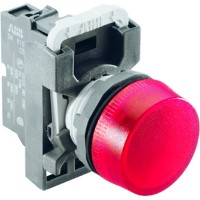 Лампа сигнализации красная (только корпус) тип ML1-100R