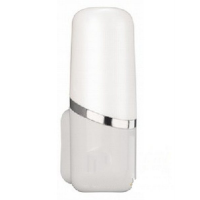 Светильник настенный КЛЛ 12Вт Е14, белый URA IP21 (в комплекте лампа Philips)