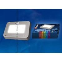 Светильник светодиодный накладной антивандальный+датчик движ.света 9,5Вт 800Лм IP65 корпус серый Наутилус