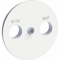 Накладка для розетки телевизионной R-TV/SAT белый Odace
