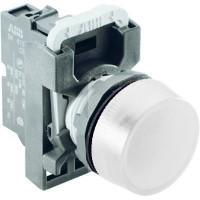 Лампа сигнализации белая (только корпус) тип ML1-100W