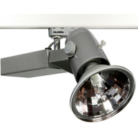Прожектор для МГЛ 70Вт 230В G12 с лампой Glider Trend 70W HCI-T GA69 WFLfg серебро