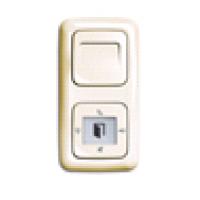 Центральная накладка, Reflex SI, цвет белый
