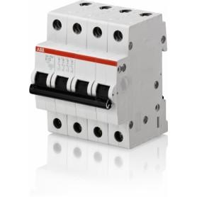Автоматический выключатель, серия SH200, C10А, 4.5кА, 4-полюсный
