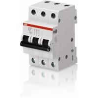 Автомат. выкл. 3-пол. 6А тип С 4,5кА серия SH200L