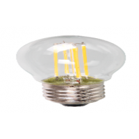 Лампа светодиодная LED ШАР PREMIUM 5.0Вт 160-260В Е14 3000К 450Лм прозрачная ASD