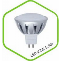 Лампа светодиодная LED JCDR standard 3.0Вт 160-260В GU5.3 3000К 250Лм ASD