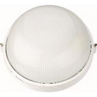 Светильник влагозащищённый НПП 1102 круг с/р 1х100Вт А60/Е27 IP54 белый ASD