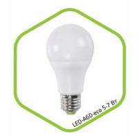 Лампа светодиодная LED A60 standard 7Вт 160-260В Е27 4000К 600Лм ASD