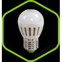 Лампа светодиодная LED ШАР standard 3.5Вт 160-260В Е27 3000К 300Лм ASD