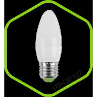 Лампа светодиодная LED СВЕЧА standard 5.0Вт 160-260В Е27 4000К 400Лм ASD