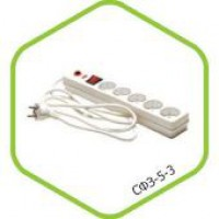 Сетевой фильтр СФЗ-5-1,8 5мест 1,8м ASD