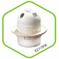 Патрон Е27 ППК пластиковый с прижимным кольцом ASD
