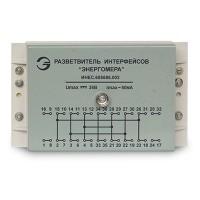 """Разветвитель интерфейсов """"Энергомера"""" 36 В 0,5 А сеч.подкл.проводов 0,5-2,5 кв.мм на DIN-рейку IP10"""