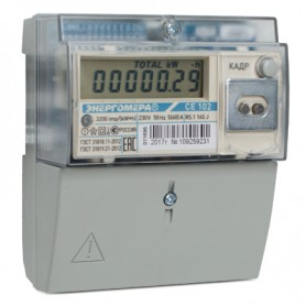 Счётчик 1ф. мн.т. акт.эн. 5-60А кл.1 ЖК-дисп.универсальный монтаж,оптический интерфейс, до 4-х тар.+