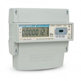 Счётчик 3ф. мн.т. акт.эн. 5- 100А 380В кл.1 ЖК-дисп. DIN-рейка оптопорт до 4-х тар.
