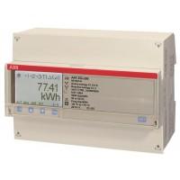 Счетчик 3-фазный активной энергии,1-тарифный,кл. точности 1,трансф. вкл. 1(6)А, имп. выход,тип A44 111-200