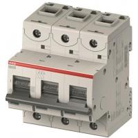 Автомат. выкл. 3-пол. 80А тип С 25кА серия S800C