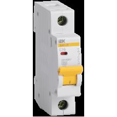 Выключатель автоматический модульный 1п C 20А 4.5кА ВА47-29 IEK MVA20-1-020-C
