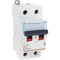 Автомат. выкл. 2-пол. 40А тип C 6кА серия DX3-E